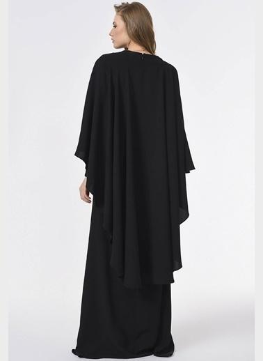 Mizalle Elbise Siyah